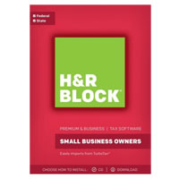 Block Financial Software H&R Block Tax Software Premium & Business 2017