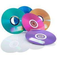 Verbatim Verbatim CD-R 700MB 52X with Color Branded Surface 10PK Bulk Box, Assorted Colors