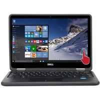 "Dell Latitude 3189 11.6"" 2-in-1 Laptop Computer Refurbished - Black"