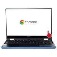 "Acer CB5-132T-C67Q 11.6"" Convertible Chromebook R11 Refurbished - Blue"