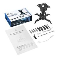 SIIG Universal Projector Ceiling Mount - Black