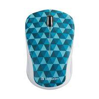 Verbatim Wireless notebook Multi-Trac Blue LED Mouse - Blue