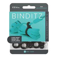 UT Wire Binditz Black Mini for Mobile - 8 Piece