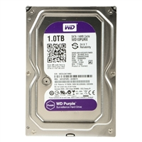 "WD Purple Surveillance/AV 24x7 1TB Intellipower SATA III 6Gb/s 3.5"" Hard Disk Drive WD10PURX - OEM"