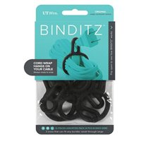 UT Wire Binditz Original Black Cable Ring - 8 Piece