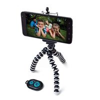 PoserSnap Mobile FlexArm Tripod and Bluetooth Remote Trigger Set with Carrying Case