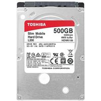 "Toshiba L200 Slim 500GB 5400RPM SATA 2.6 3Gb/s 2.5"" Internal Mobile Hard Drive"