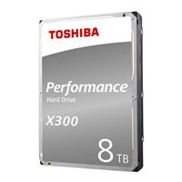 "Toshiba X300 8TB 7200RPM SATA III 6Gb/s 3.5"" Internal Hard Drive"