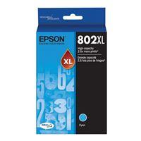 Epson 802XL Cyan Ink Cartridge