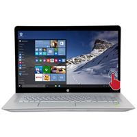 "HP ENVY 17-u177cl 17.3"" Laptop Computer Refurbished - Silver"