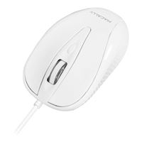 MacAlly USB Wired Mouse - White
