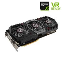 MSI GeForce GTX 1080 Ti Gaming X TRIO Overclocked Triple-Fan 11GB GDDR5X PCIe Video Card