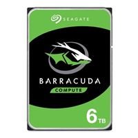 "Seagate BarraCuda 6TB 5400RPM SATA III 6Gb/s 3.5"" OEM Internal Hard Drive"