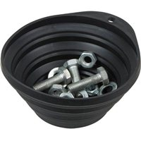 Titan Tools Collapsible Magnetic Parts Tray - Black
