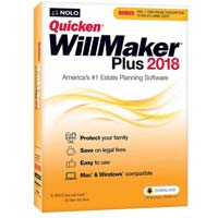 Nolo.com Quicken WillMaker Plus 2018
