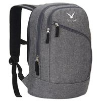 "Hynes Eagle Laptop Backpack Fits Screens up to 15"" - Gray"