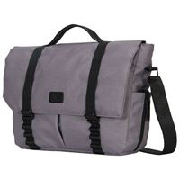 "Hynes Eagle Messenger Bag fits Screens up to 14"" - Gray"