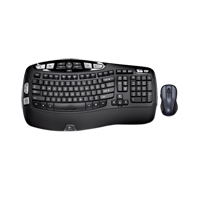 Logitech MK550 Wireless Keyboard and Mouse Combo (Refurbished)