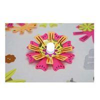 TechnoChic DIY Light-Up Flashy Flowers Kit - Neon (Hot Pink, Orange, Yellow)