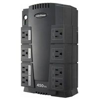 CyberPower Systems Standby Series 450VA 8 Outlet UPS w/ RJ11 Protection - Refurbished