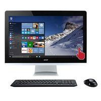 "Acer Aspire AZ3-715-UR12 23.8"" Touchscreen All-in-One Desktop Computer"