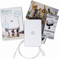 Lifeprint Photos 2x3 Hyperphoto Printer for iPhone & Android