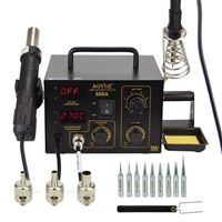 SRA Soldering Products 2 in 1 Digital Hot Air Rework and Soldering Station