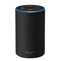 Amazon Echo 2nd Generation - Charcoal