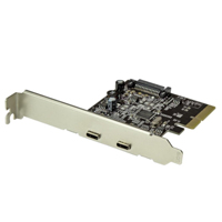 StarTech 2-Port USB 3.1 Type-C PCIe Controller Card