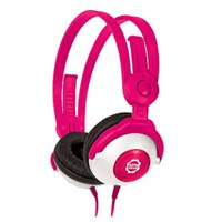 Kidz Gear Volume Limit Headphones - Pink