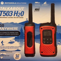 Motorola TALKABOUT T503 H20 Two-Way Radio - Two Pack
