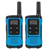 Motorola 2-Pack Talkabout T100 2 Way Radio - Blue