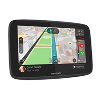 "Tom Tom GO 520 Hand Free GPS Navigation 5"" Display w/ WiFi"