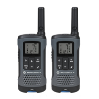 Motorola 2-Pack Talkabout Walkie Talkies - Gray