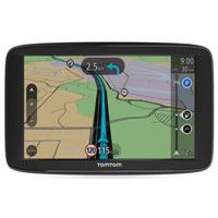 "Tom Tom VIA 1625TM 6"" GPS Navigator w/ Lifetime Maps"