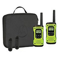 Motorola TALKABOUT T605 H20 Two-Way Radio w/ Case