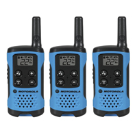 Motorola 3-Pack Walkie Talkies - Blue
