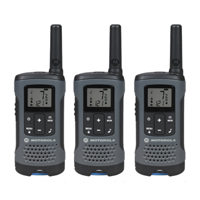 Motorola 3-Pack Talkabout Two-Way Radios - Gray