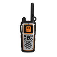 Motorola Talkabout 2-Way Radio - Silver