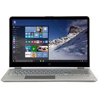 "HP ENVY x360 15.6"" 2-in-1 Laptop Computer Refurbished - Silver"