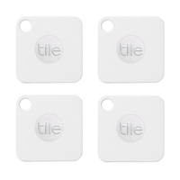 Tile Inc. Tile Mate Bluetooth Tracker - 4 Pack