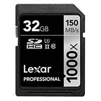 Micron 32GB Professional 1000x UHS-II U3 SDHC Memory Card