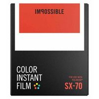 Impossible Color Instant Film for Polaroid SX 70 - 8 Pack