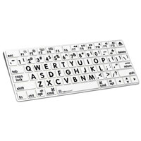 Logickeyboard XLPrint LogicSkin Keyboard Cover For Magic Keyboard - Black/White