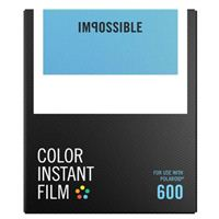 Impossible Color Instant Film for Polaroid 600 - 8 Pack