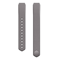 FitBit Large Leather Band for Alta Fitness Tracker - Graphite