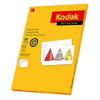 "Kodak Greeting Cards (5 x 7"", 20 Cards & Envelopes)"