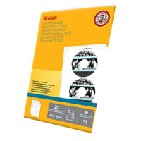 Kodak CD/DVD Labels - 10 Pack