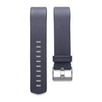 FitBit Large Leather Band for Charge 2 Fitness Tracker - Navy