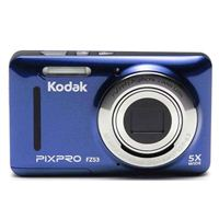 Kodak PIXPRO FZ53 16.1 Megapixel 28mm Wide Angle Lens Digital Camera - Blue
